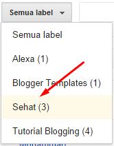 Cara Mengganti Nama Label Pada Postingan Blog Sekaligus