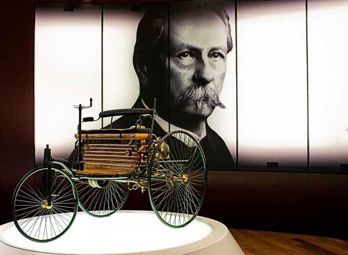 Karl Benz, Sang penemu mobil dengan bahan bakar bensin ( inspirasi )