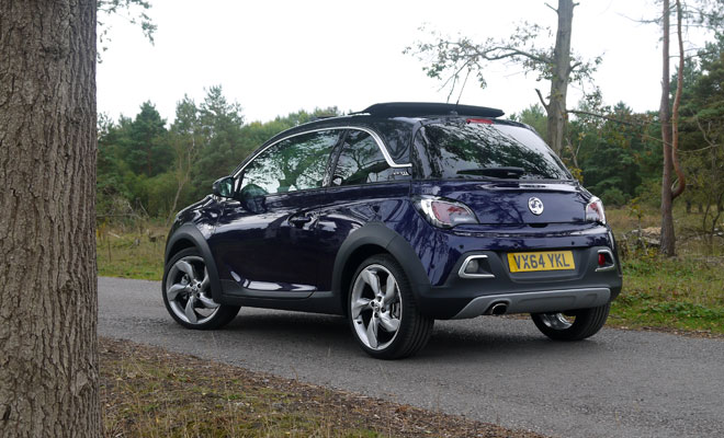 Vauxhall Adam Rocks Air rear side view