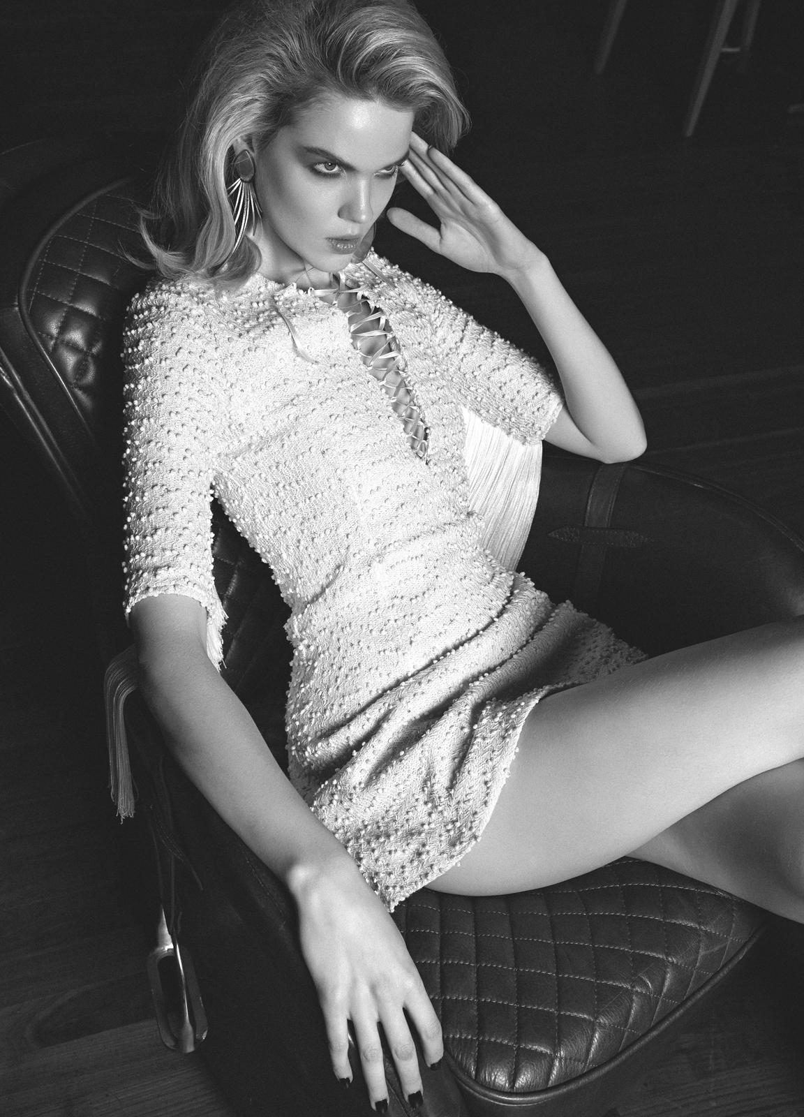 Magazine Photoshoot : Michelle Westgeest Photoshot For Semih Kanmaz Glamour Magazine Turkey November 2013 Issue