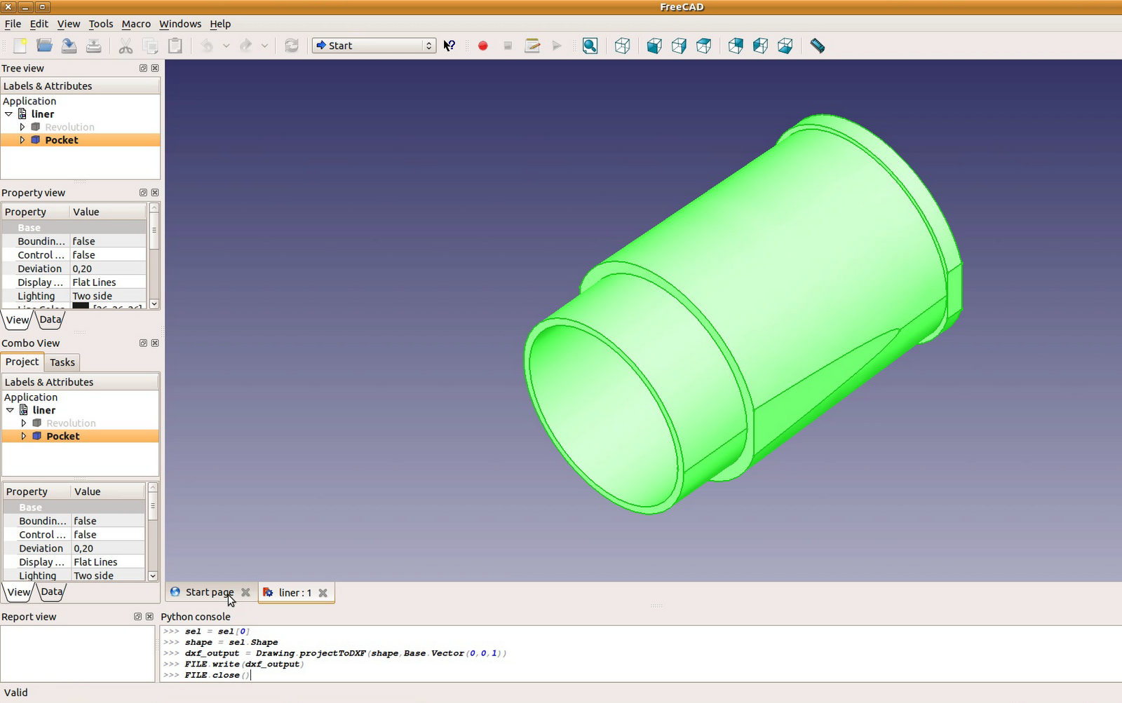 freecad tutorial engine 8 liner blueprint freecad