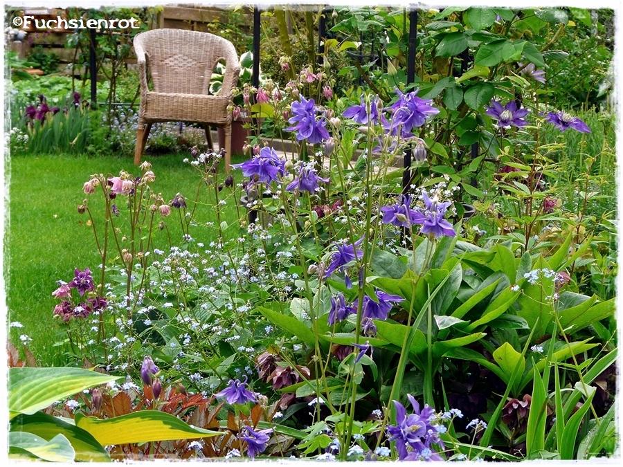 Fuchsienrots garten blog eine kleine gartenecke for Gartenbepflanzung planen