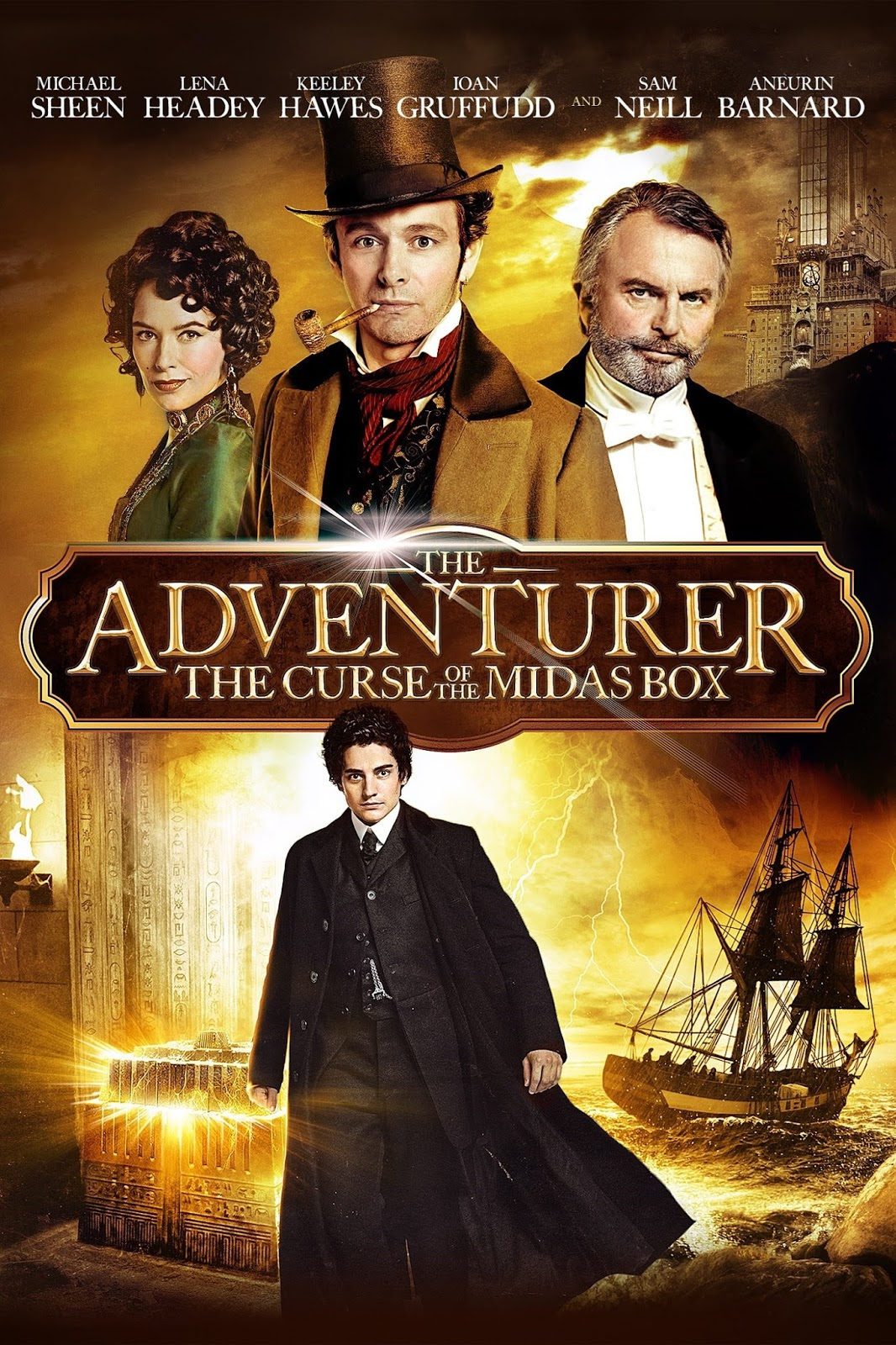The Adventurer: The Curse of the Midas Box 2014 - Full (HD)