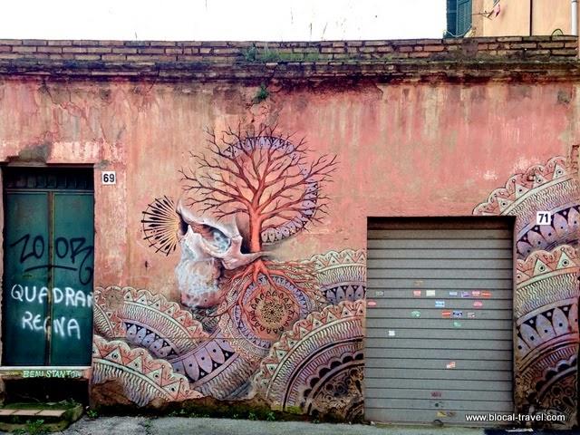 the m u ro walking tour and so i 39 m back graffiti hunting at quadraro travel off the beaten path. Black Bedroom Furniture Sets. Home Design Ideas