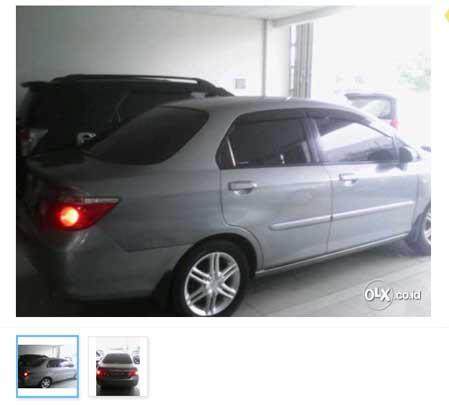 Mobil Bekas Jakarta Timur : Honda City Vtec A/t 2006
