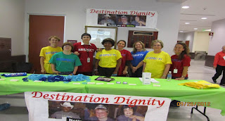 Juvenile detention center staff team up with the Intellectual and Developmental Disabilities Council to promote Designation Dignity Day.