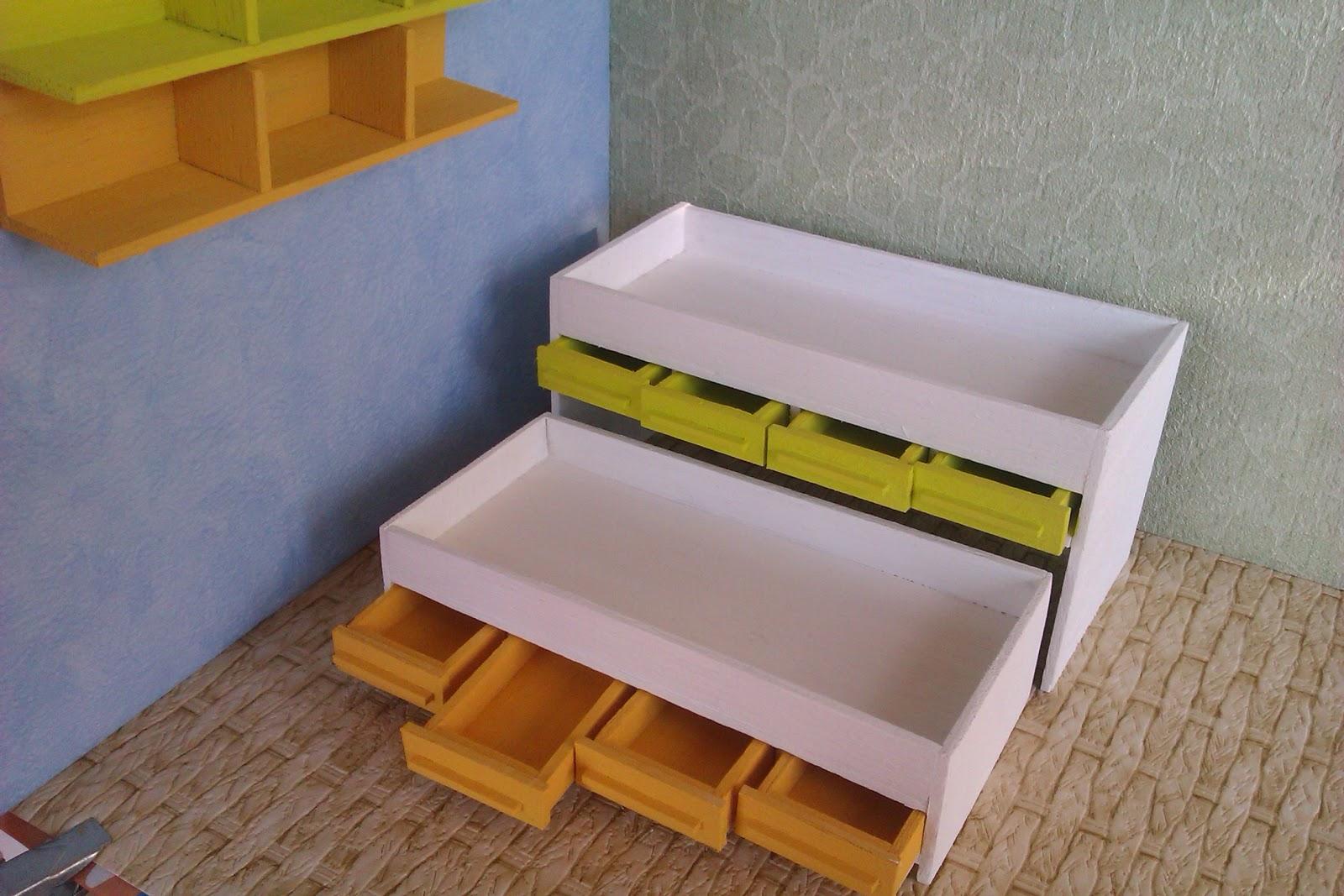 La tienda de el manitas cama nido doble con cajones y for Medidas cama nido con cajones
