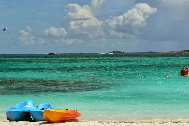 Coco cay, cayo Norman, Little Stirrup, islas Berry, playas del caribe, playas de Bahamas