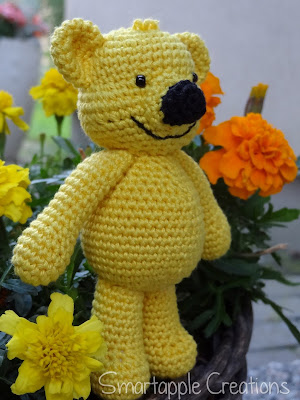 Amigurumi Bear Maya : Smartapple Creations - amigurumi and crochet: Honey-bear