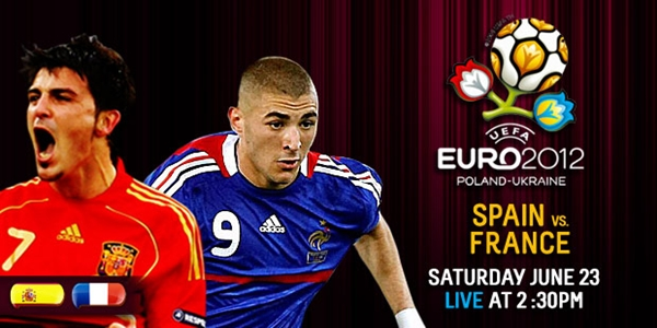 Spain vs France Predictions Euro June 24, 2012