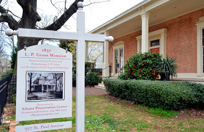 Birthplace of Bobby Jones, the L. P. Grant Mansion