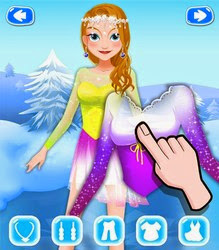 Screenshots of the Frozen Beauty Queen for Android tablet, phone.
