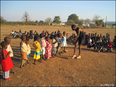 Scuola di atletica in Mozambico, Africa