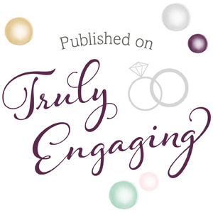 Featured on Truly Engaging, Southern Weddings, and Style Me Pretty