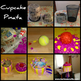 cupcake pinata tutorial