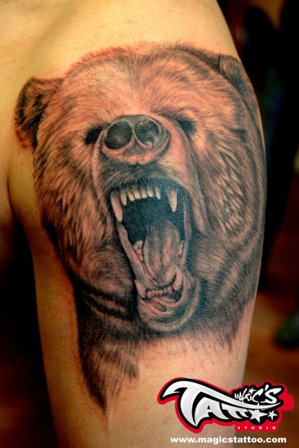 Bear_tattoo___cork_ireland_by_magicstattoostudiojpg