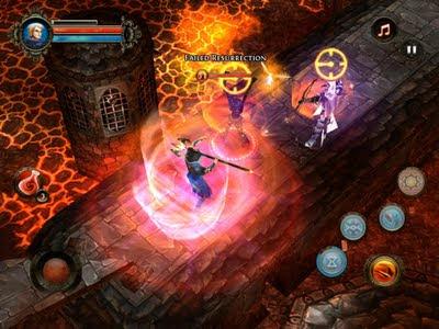 dungeon hunter juegos nokia