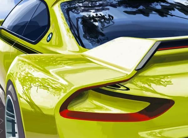 BMW 3.0 CSL Hommeage Concept
