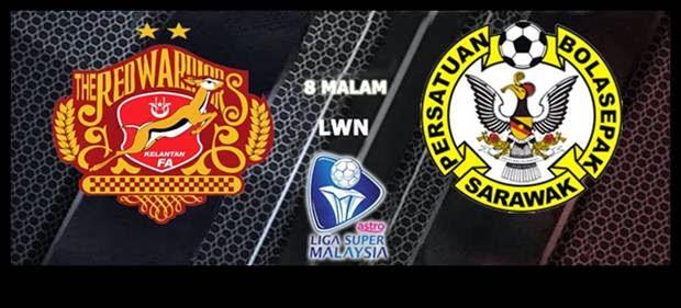 arena 801, liga super malaysia 18 april, keputusan kelantan vs sarawak