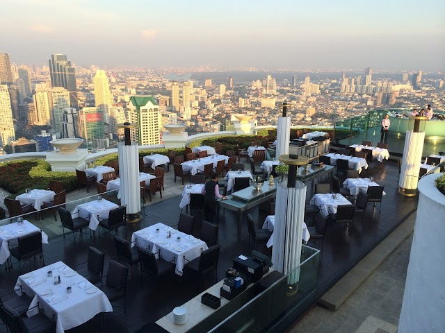 What to do in Bangkok? Be part of the Hangover Wolf Pack! Visit to Lebua at State Tower.