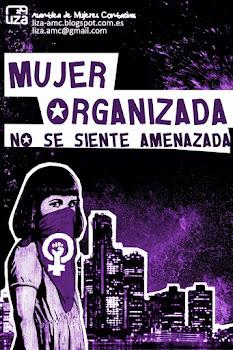 Mujer organizada no se siente amenzada