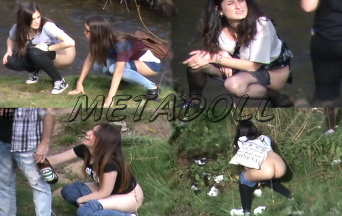 Girls Gotta Go 05 (Spanish Girls Urinating in Public)