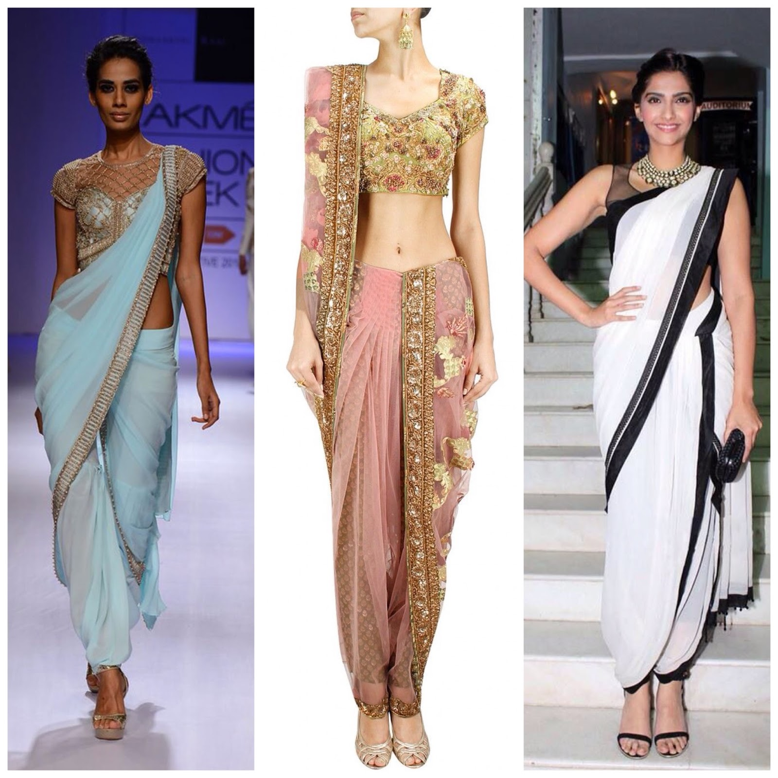 saree style to drape drapes fashion blog jacket collage look trends interesting your copy a latest reinvent wear