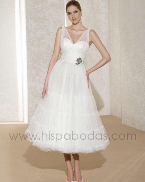 peinados: vestidos de novia cortos 2012 novia d´art