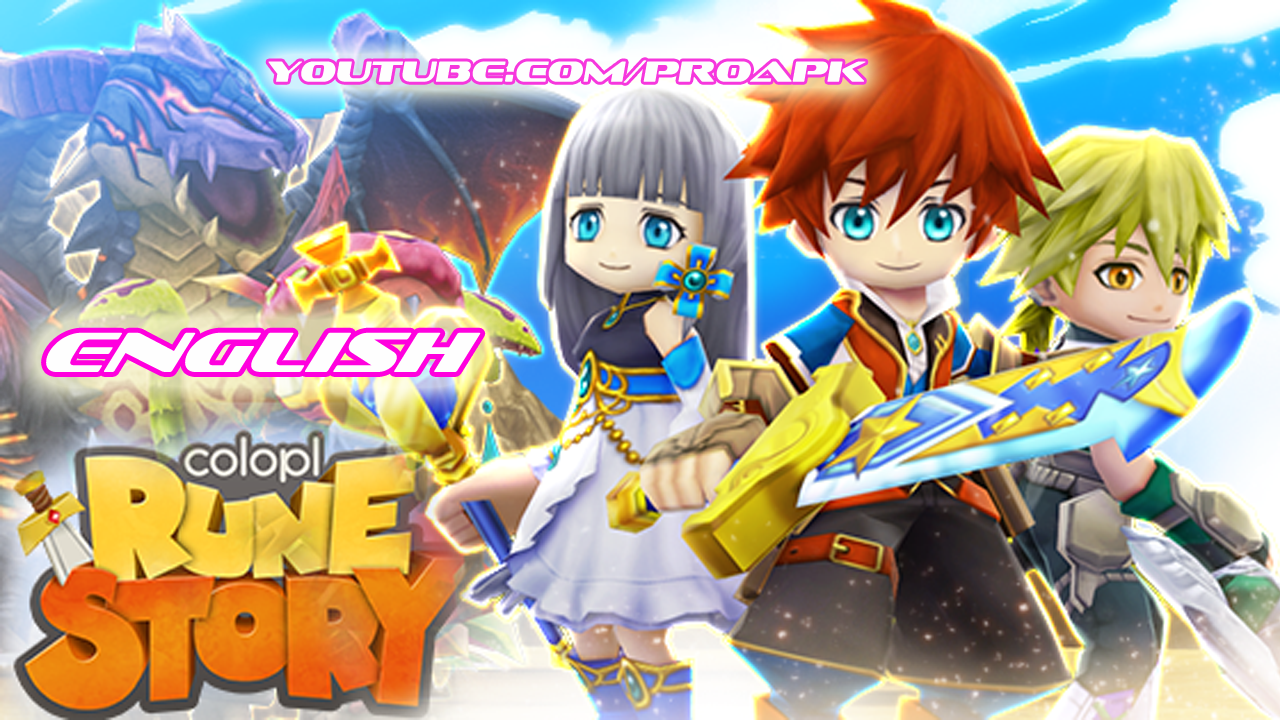 Colopl Rune Story English Gameplay IOS / Android