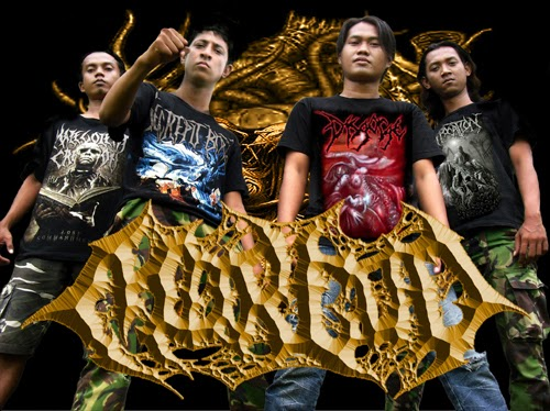 Morgod Band Brutal Death Metal Surabaya Foto logo Font Artwork Wallpaper