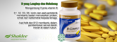 11 Kelebihan B Complex Shaklee