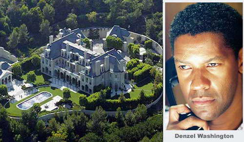 Homes Of Hollywood Celebrities Denzel Washington
