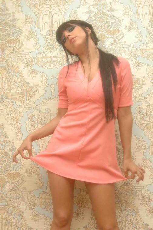 LADY GAGA PINK DRESS