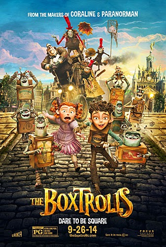 the boxtrolls - heroes come in all shapes and sizes...even rectangles