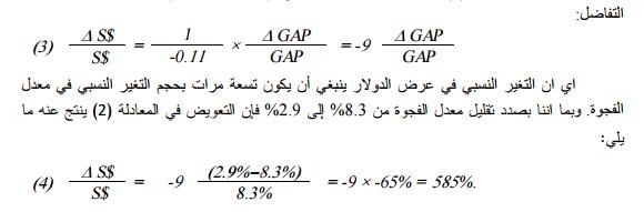 المتغيرات المؤثرة في سوق الصرف الخارجي