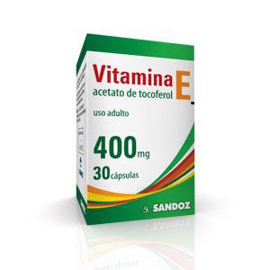 Vitamina E em capsulas