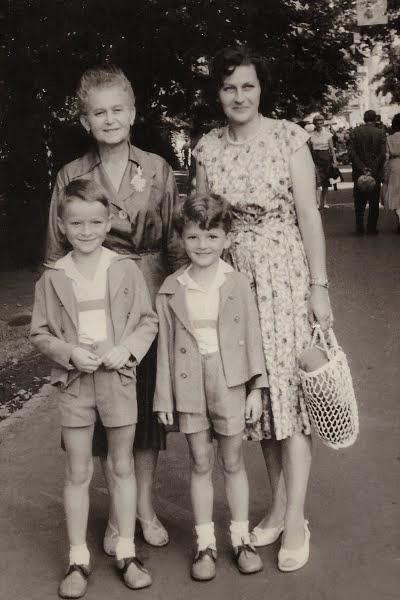 Já s bratrem - VIII.1962