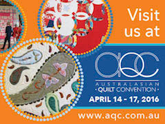 Visit us at the Australian Quilt Convention