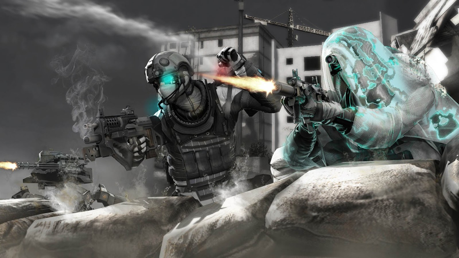 Ghost Recon Future Soldier HD & Widescreen Wallpaper 0.45236758921353