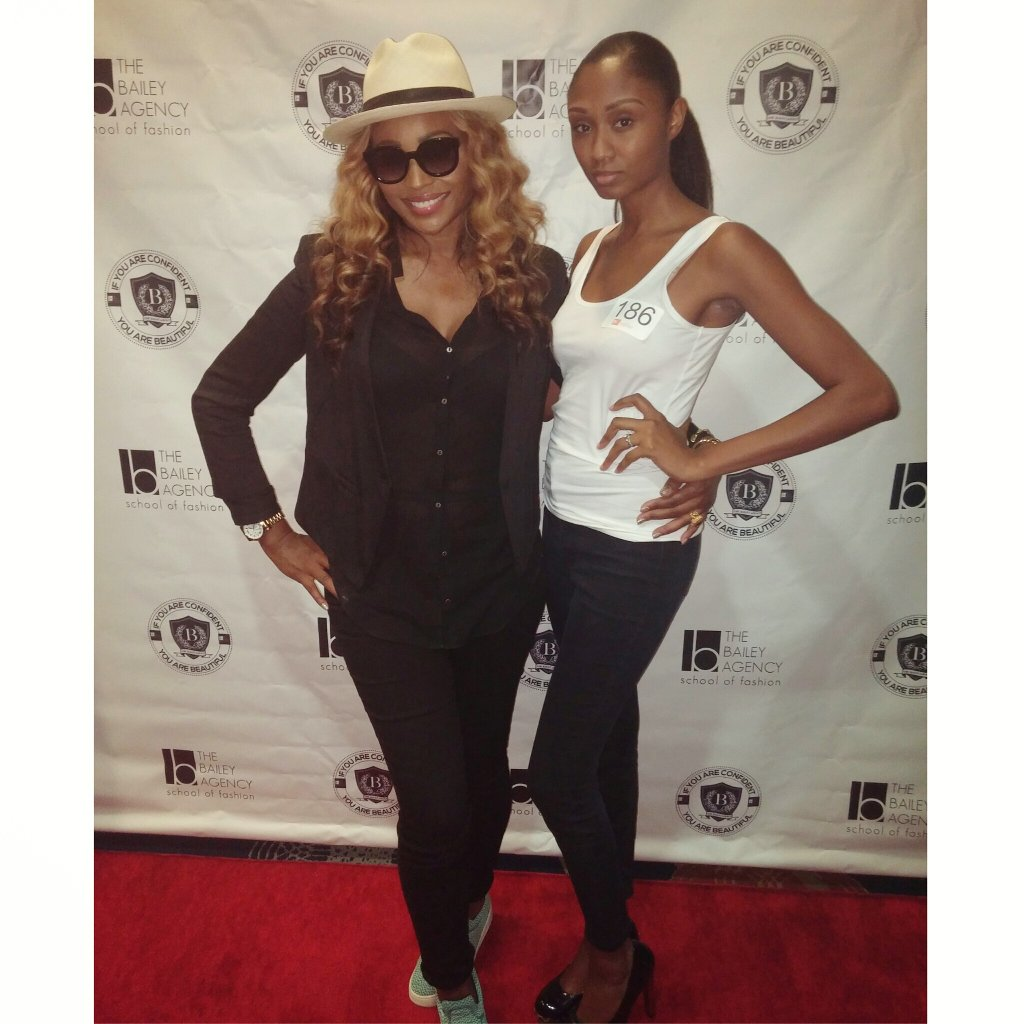 Cynthia bailey modeling agency closed