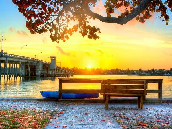 صورة أفقية لشروق الشمس