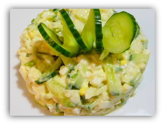 Салаты из свежей цветной капусты рецепты
