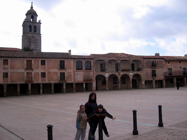 Plaza mayor de Medinaceli, plaza mayor española