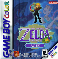 the legend of zelda oracle of ages box art Vooks Review   The Legend of Zelda: Oracle of Ages (3DSVC)