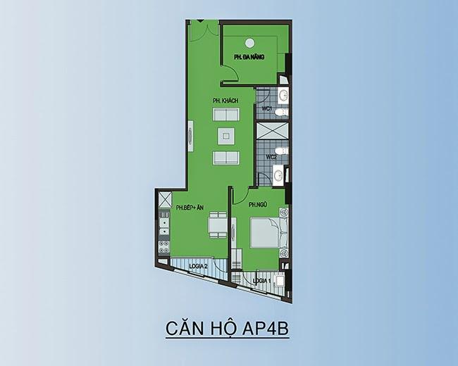 căn hộ AP5 - 121,8m2
