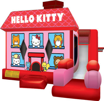 Hello Kitty Inflatable Combo