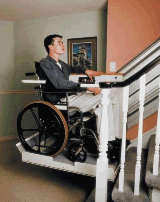 Freedom Tracker Wheelchair Lift : A step above elevators escalators residential