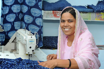Rural woman working on Electric Machines