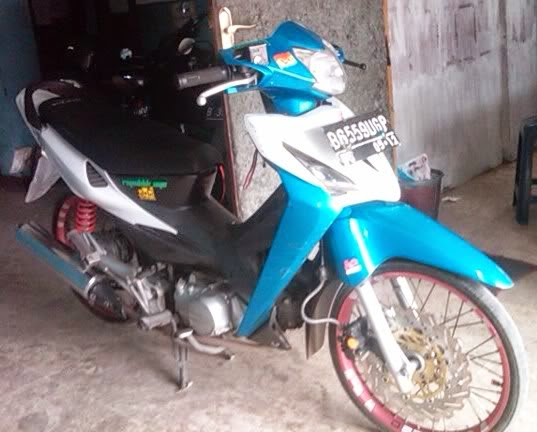 modifikasi honda revo 2007