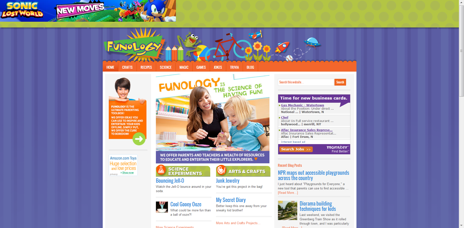 Learning never stops 27 websites that make learning science fun their science section contains dozens of fun hands on experiments that can be done at home or in school there is also a section with fun facts and trivia gamestrikefo Images